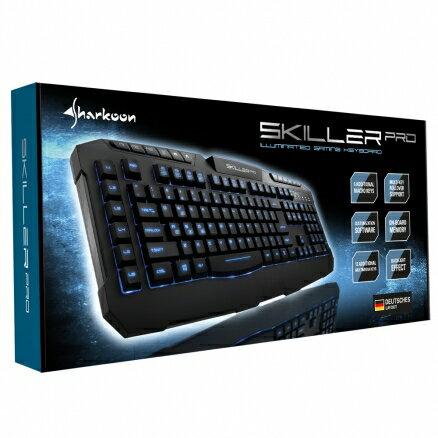 旋剛 Sharkoon Skiller PRO 夜行者PRO 電競鍵盤 遊戲鍵盤 電腦鍵盤【迪特軍】