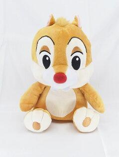 X射線【C156392】奇奇蒂蒂Chip'n'Dale10吋坐姿-蒂蒂,絨毛填充玩偶玩具公仔抱枕靠枕娃娃