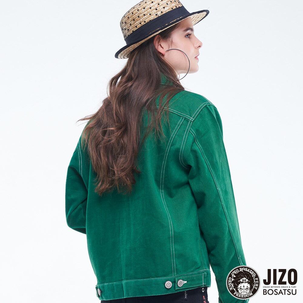 BLUE WAY   地藏小王 高磅數復古燈芯絨襯衫外套(男女款) 5
