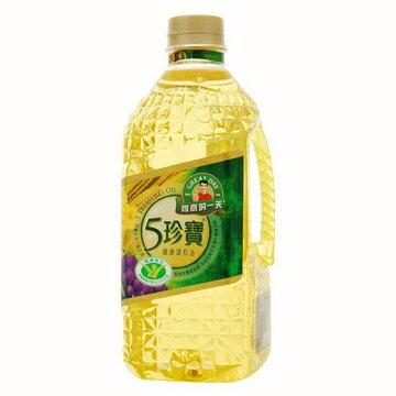【桂格得意的一天】5珍寶健康調和油  1.58 L/瓶*6/箱
