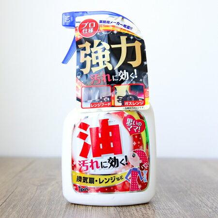 日本友和 Tipos 強力油污清潔噴霧 400mL 廚房 瓦斯爐 清潔劑【N202141】