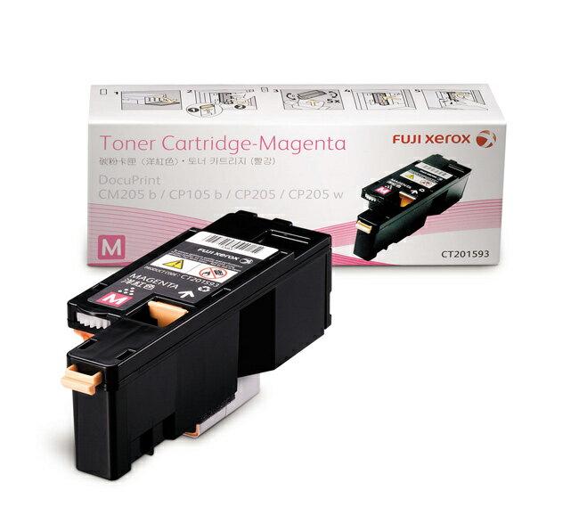 ▲最高點數回饋10倍送▲富士全錄FujiXerox DocuPrint CT201593 原廠原裝高容量紅色(M)碳粉匣 適用機型CP105b/CP205/CM205b/CM205F/CP215w/C