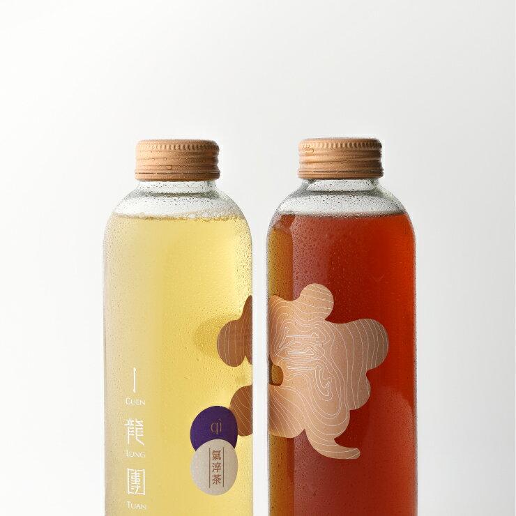 【氣淬茶】凍頂烏龍氣泡茶 - 氣蘊四季 (450ml / 瓶) /Chi Yun Sih Ji/Chi of Four Seasons 1