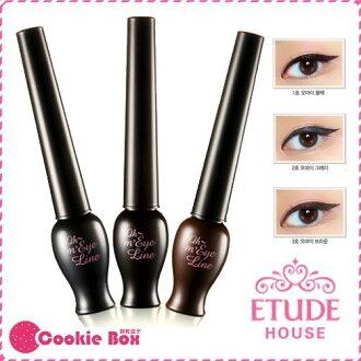 韓國 ETUDE HOUSE 夜店公主 長效 眼線液 5g *餅乾盒子*