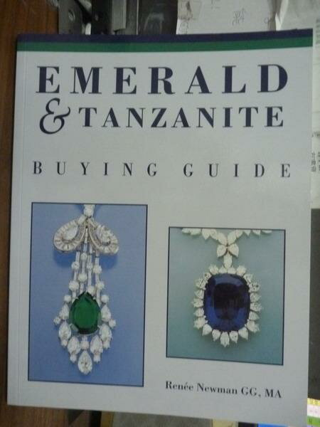 【書寶二手書T1/嗜好_PNI】Emerald & Tanzanite_Renee Newman
