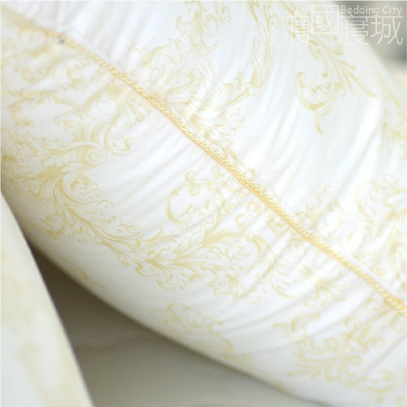 枕頭/高品質/歐式鑲邊羽絲絨枕(2入)【膨鬆、吸濕、舒眠、台灣製】 # 寢國寢城 2