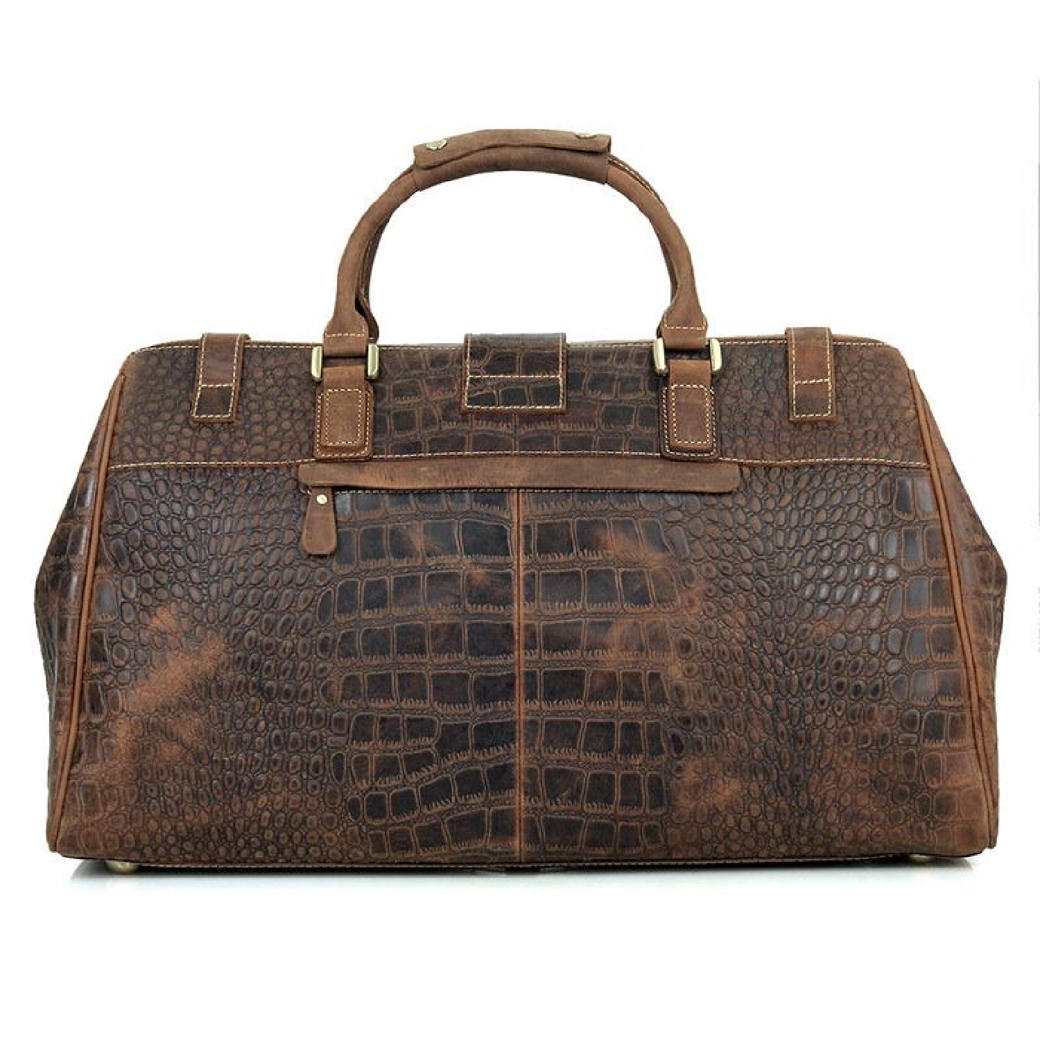 89cbb1abf276 Bag Crocodile Travel Luggage Men Duffle Overnight Duffel Leather Bags High  Quality Pattern Women Hand Weekender Gym Sports Coach Bags