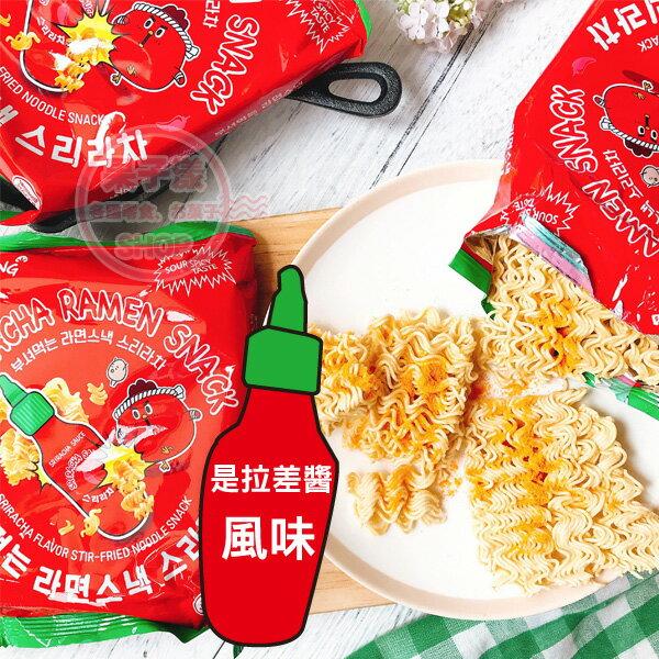 韓國samyang是拉差甜辣醬風味脆麵(單袋3小包入)[KR479]