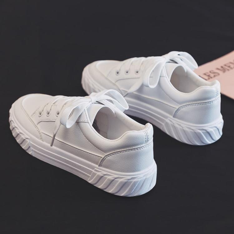 休閒鞋 2020夏季新款夏款透氣小白鞋女韓版學生百搭帆布潮鞋白鞋休閒板鞋  新店開張全館五折