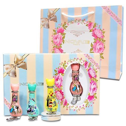 Novae Plus 甜密花園 - 夢幻17限量小香禮盒組12mlx3 + 同品牌紙袋【特價】§異國精品§