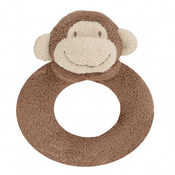 『121婦嬰用品館』美國Angel Dear 動物手搖鈴環 小猴AD1633(此商品售出不做退換) 0