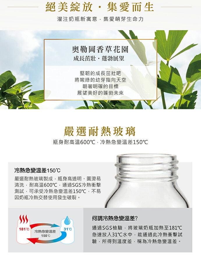 專品藥局 小獅王Simba 蘿蔓晶鑽標準玻璃大奶瓶-240ml (天藍) S69131 (實體簽約店面)【2011967】 4