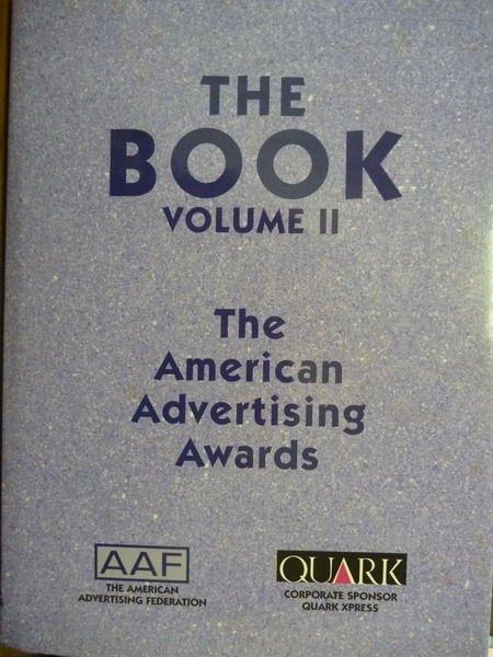 ~書寶 書T7/ _QFZ~The Book Volume II:American…Awa