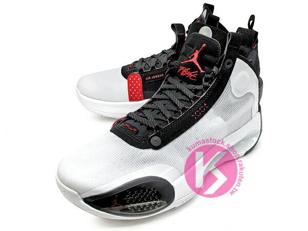 2019-2020 史上最輕 NIKE AIR JORDAN XXXIV 34 GS CHICAGO 大童鞋 女鞋 白黑紅 新一代 ECLIPSE PLATE 避震科技傳導 前、後 ZOOM 籃球鞋 AJ 4 (BQ3384-100) 1019 1