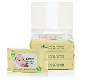 小獅王辛巴 EDI超純水嬰兒柔濕巾組合包 (20抽x3包)