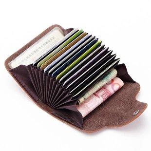 <br/><br/>  【瞎買天堂x買一送一】時尚大容量風琴信用卡包 可放證件 零錢 二層牛皮【CBAA0417】<br/><br/>