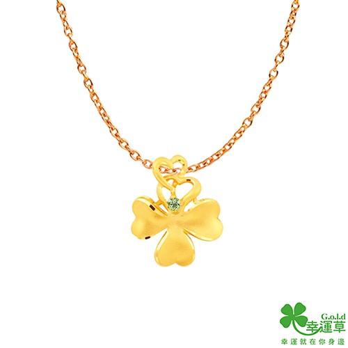 巧福-黃金女墜飾 晶漾金飾JingYang Jewelry