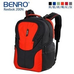 [滿3千,10%點數回饋]【BENRO百諾】銳步 Reebok 200N 雙肩攝影背包