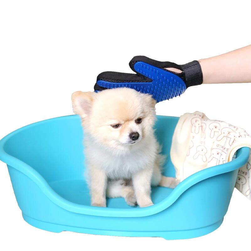 寵物洗澡按摩除毛手套 洗澡刷 按摩刷 按摩手套 除毛 清潔刷 美容梳 寵物洗澡 寵物按摩 618購物節 1