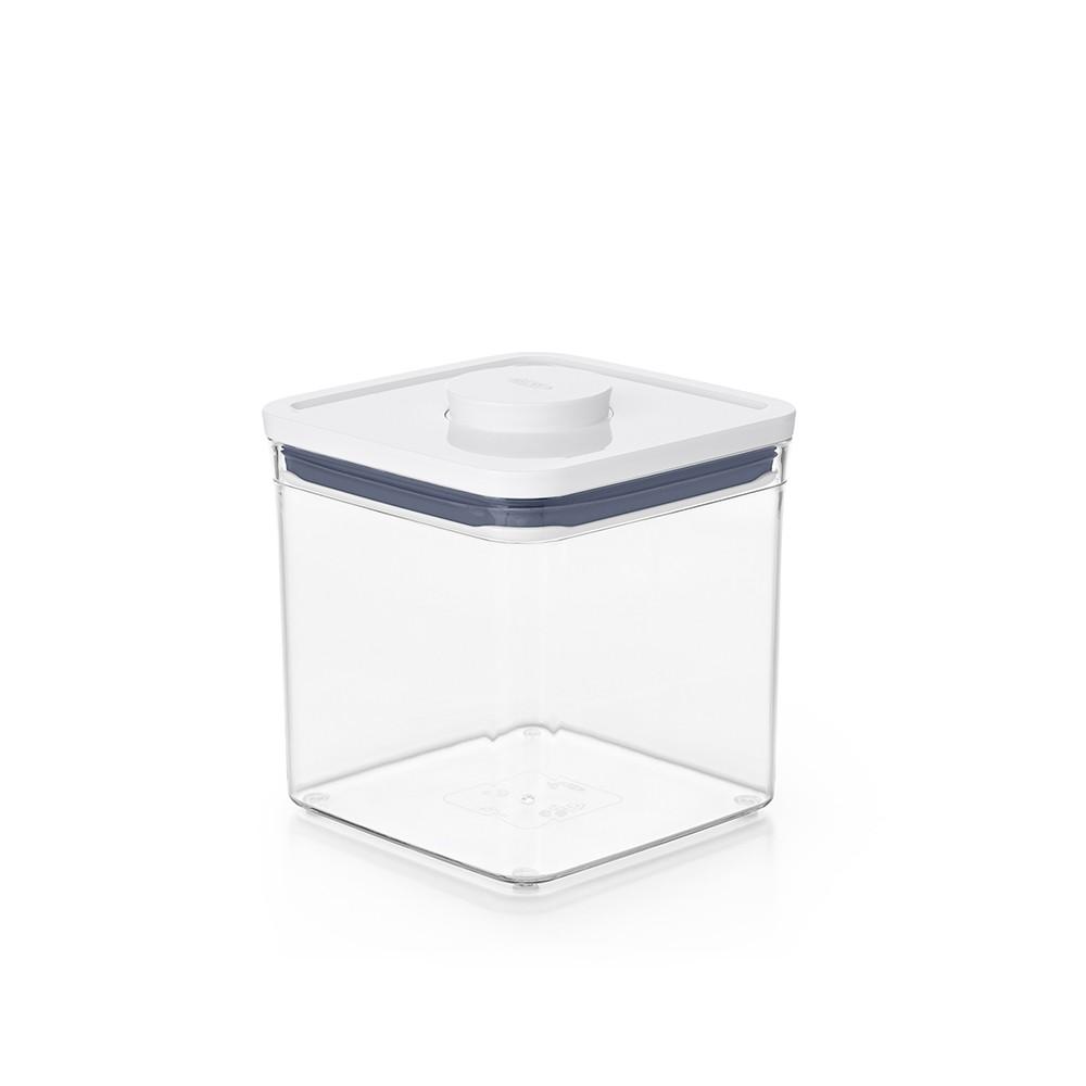 廚房用具/收納盒/密封盒 OXO POP 大正方按壓保鮮盒2.6L 完美主義 【DY109】