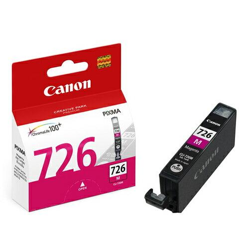 CANON CLI-726M 原廠紅色墨水匣 CLI-726 M 適用 ix6560