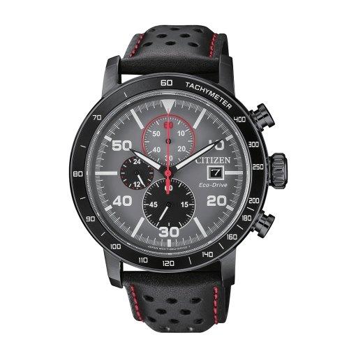 清水鐘錶 Citizen 星辰 Eco-Drive 光動能 深邃時光優質腕錶 黑面 CA0645-15H 44mm