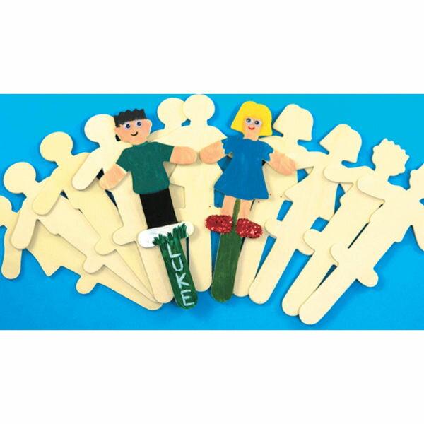 【華森葳兒童教玩具】美育教具系列-大型人形棍 L1-AP/722/PSL