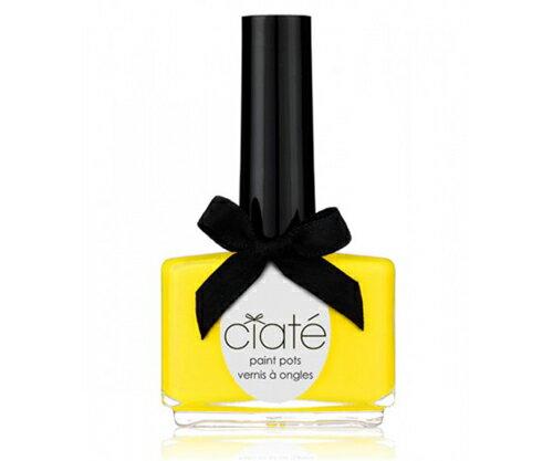 ~英國Ciaté夏緹~Paint Pots指甲油~Big Yellow Taxi 黃色計程