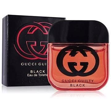 香水1986☆Gucci Guilty Black 罪愛 夜女性淡香水迷你小香 5ml