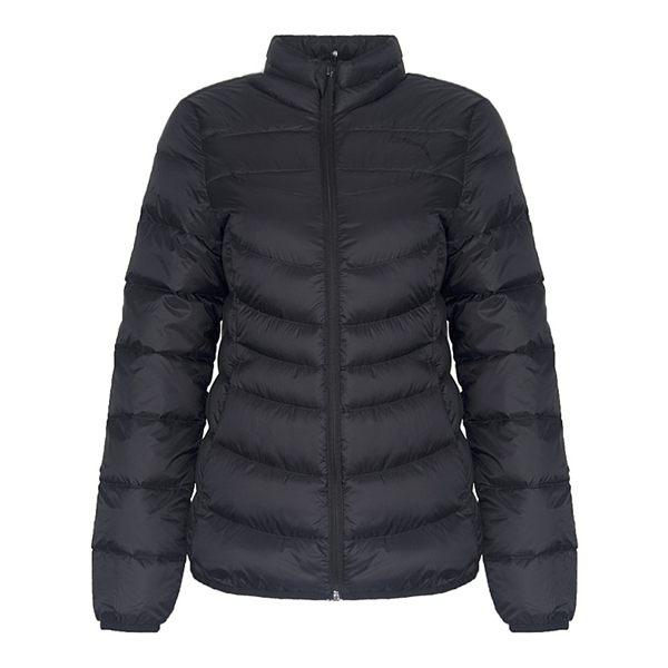 PUMA女裝外套羽絨休閒保暖輕量防潑水可折疊黑【運動世界】59462901