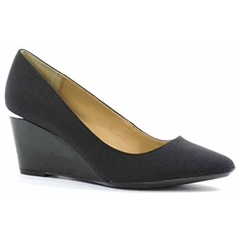 Calvin Klein Women's Pallavi, Black, Size 9.5 94e8df2369ab7f7303afb5d2b1bbff0e