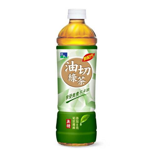 悅氏油切綠茶550ml*4入【愛買】