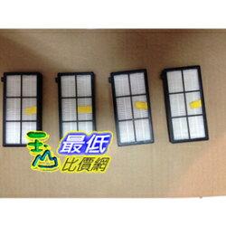 [103 玉山最低網] Roomba 800 900 系列濾網 4入 吸塵器相容型濾網 870 880 980