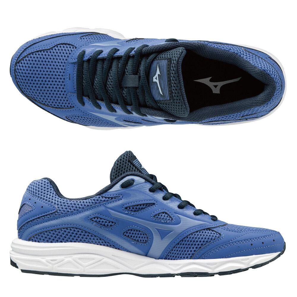MIZUNO SPARK4 一般型女款慢跑鞋 K1GA190468(紫藍)【美津濃MIZUNO】 1