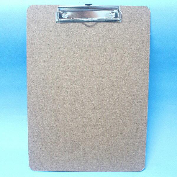 環保正A4木板夾 OF340 鐵人鐵線木板夾(直式.橫式)MIT製/一箱12個入{定50}