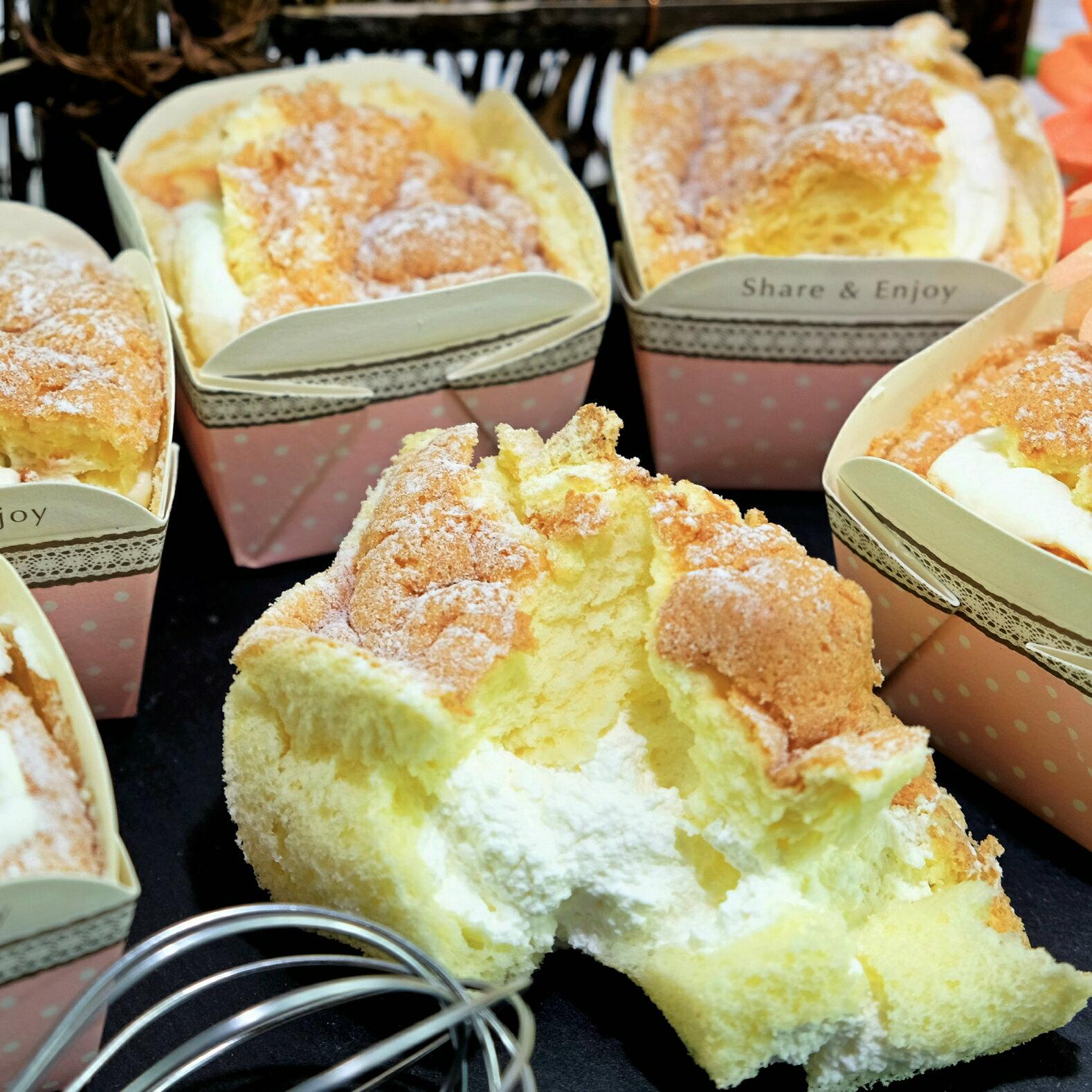 【Sara-Cake烘焙坊】北海道奶霜戚風蛋糕 6入