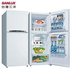 SANLUX 台灣三洋SR-B192B3冰箱 192L 雙門 能源效率2級