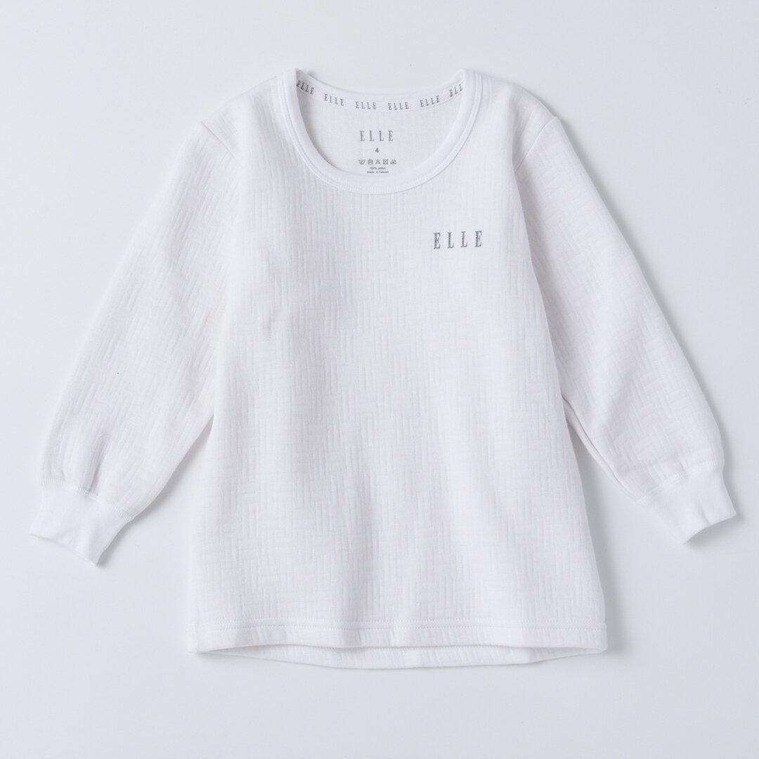 ELLE童三層棉小高領長袖上衣【中揚精品】E2318