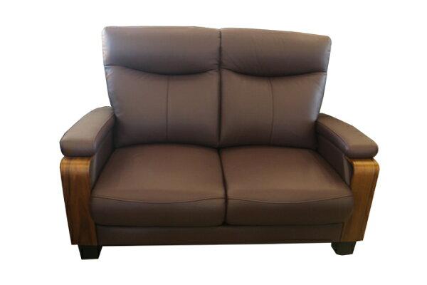 【尚品傢俱】708-08拿破崙半牛皮1+2+3人座沙發(坐椅可往前調整)
