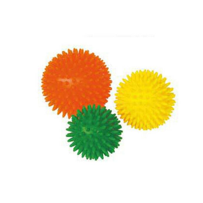 【華森葳兒童教玩具】感覺統合系列-小觸覺球-環保材質/3顆1組 (直徑=10.8.7CM) B7-3332