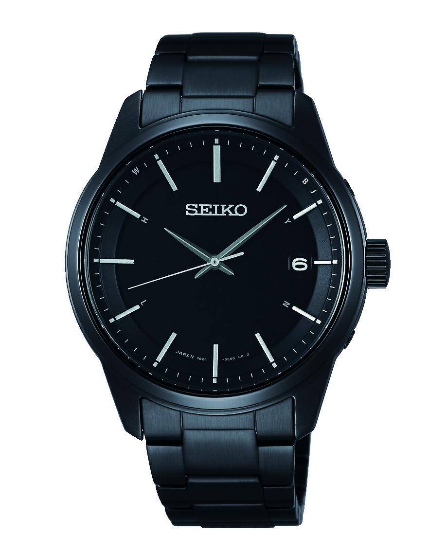 SEIKO 精工 SPIRIT 萬年曆太陽能電波腕錶 7B24-0BJ0SD(SBTM235) 40mm
