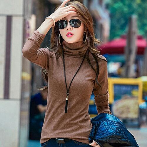 加絨高領打底衫(3色S~3XL) 【OREAD】 0