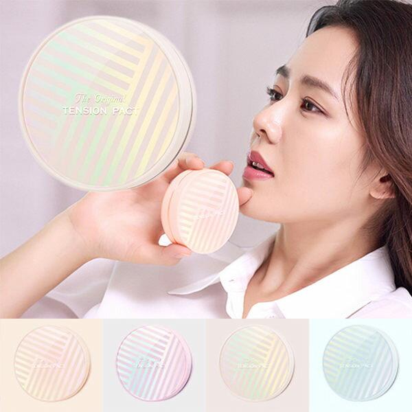 韓國MISSHA超服貼水光肌網狀氣墊粉餅米色自然款(14g)【庫奇小舖】