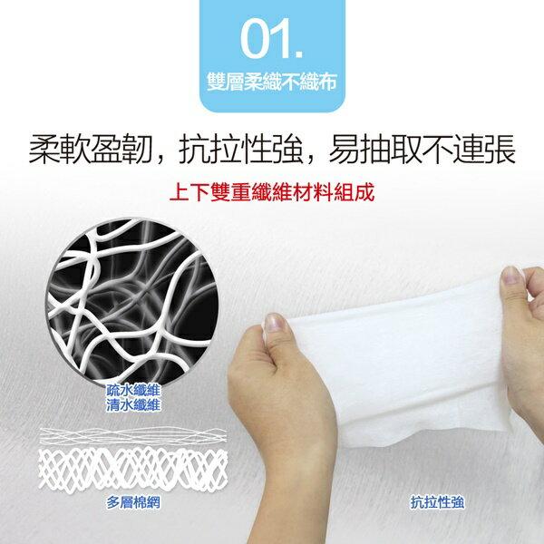 適膚克林蓋好抽嬰兒純水柔濕紙巾(箱購/免運)