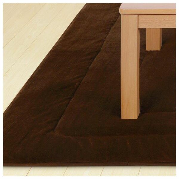 吸濕發熱 暖桌用墊 N WARM 正方形 FLANNEL Q 19 NITORI宜得利家居 7