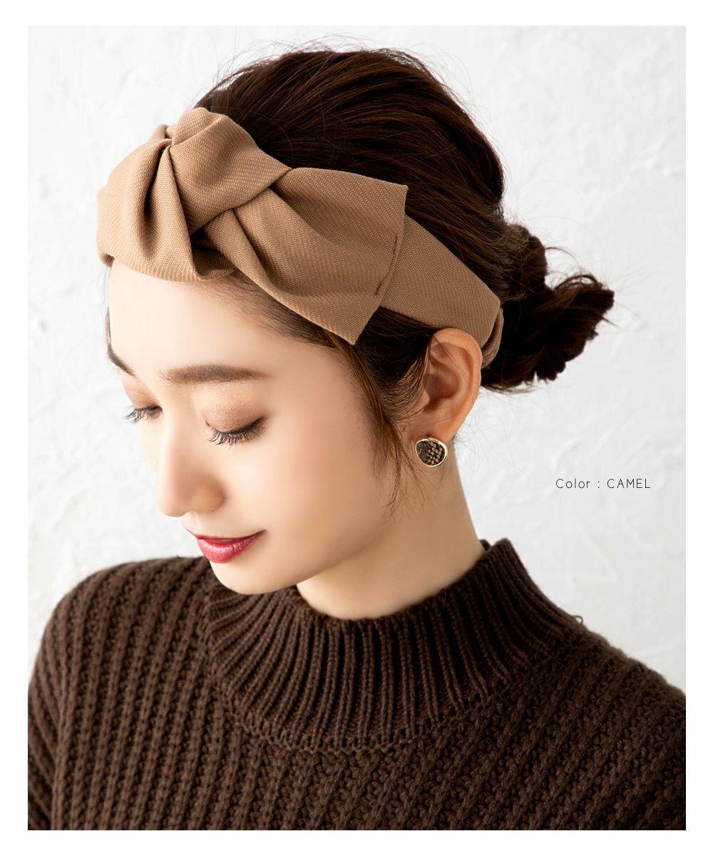 日本CREAM DOT  /  俏皮蝴蝶結寬版髮帶 髮飾  /  a03615  /  日本必買 日本樂天直送(1790) 5