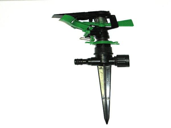 4分(塑膠)鳥型噴頭與20cm塑膠腳架灑水器