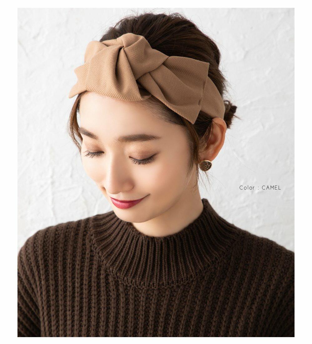 日本CREAM DOT  /  俏皮蝴蝶結寬版髮帶 髮飾  /  a03615  /  日本必買 日本樂天直送(1790) 6