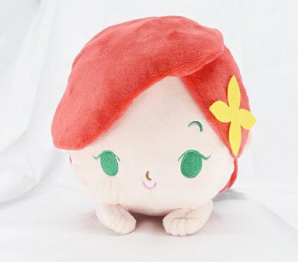 X射線【C171579】小美人魚Ariel30cm,絨毛填充玩偶玩具公仔抱枕靠枕娃娃