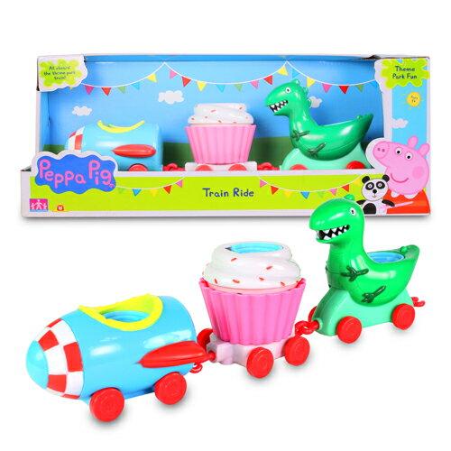 粉紅豬小妹歡樂樂園系列-樂園火車組/ Peppa Pig Theme Park Train Ride Pack/ 伯寶行